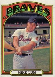 1972 Topps Baseball Cards      641     Mike Lum